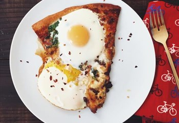 Your Weekend Breakfast Recipe - THE BEST WAY TO EAT LEFTOVER PIZZA   News Article