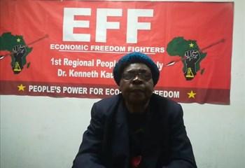 Matlosana Municipality overlooking the youth - EFF   News Article