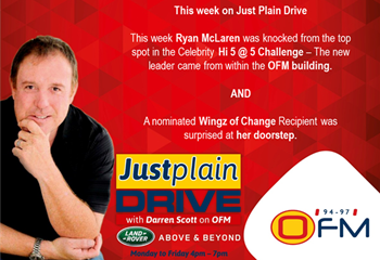 The Best of Just Plain Drive 13 - 17 May 2019 | News Article