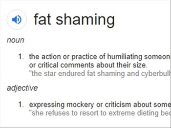 Fat Shaming. Does it motivate people to lose weight?  | Blog Post