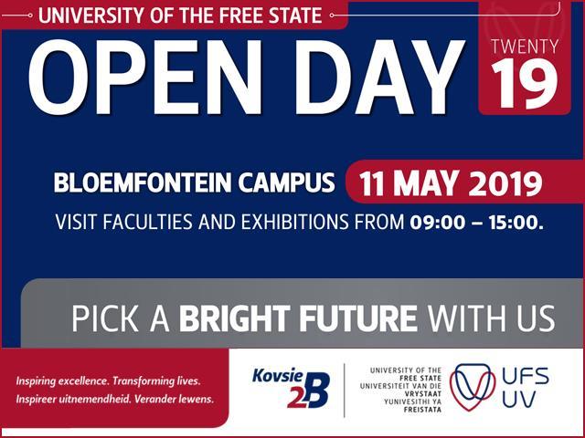 UFS Open Day Bloemfontein