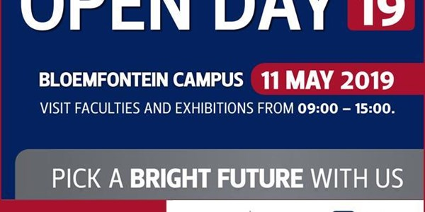UFS Open Day 2019 this coming weekend | News Article