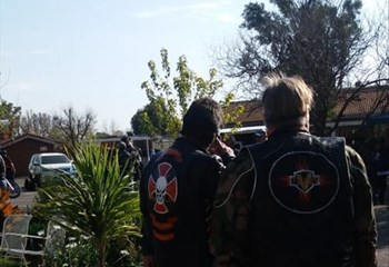 'Next time we come here, it won't be with clothes' warns bikers at Bfn old age home caregivers  | News Article