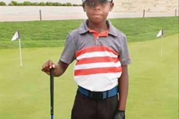 Just Plain Blog: 7 Year old Golfing prodigy, Simtiger, join us  | Blog Post