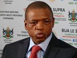 Mahumapelo praises Zuma's presidency   News Article