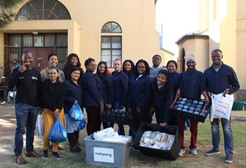 CMG staff embraces Mandela Day by taking #actionagainstpoverty   News Article