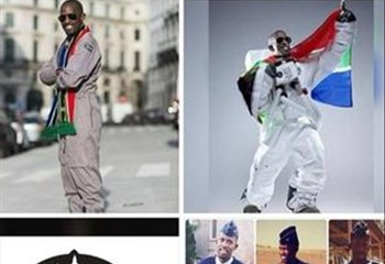 First black African 'heading into space', dies  | News Article