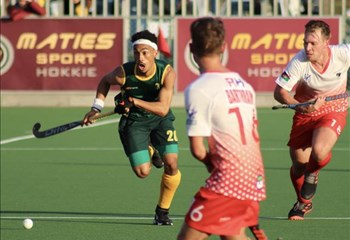 SA Hockey Men get started on the Road to Tokyo 2020 | News Article