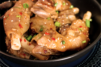 'Cooking with Lamb': Asian Sheep Trotters | Blog Post
