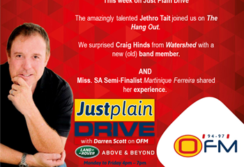 The Best Of Just Plain Drive 12 - 16 August 2019 | News Article