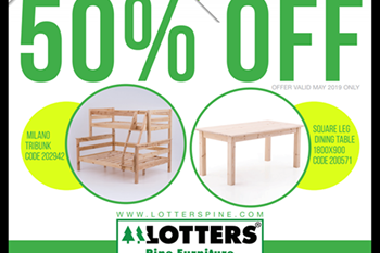 MMM - Win Big with Lotters Pine! | Blog Post