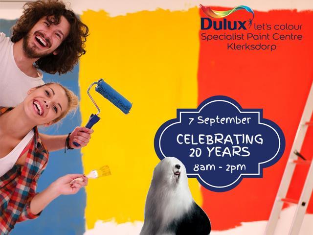 Dulux Specialist Paint Centre Klerksdorp 20th Birthday