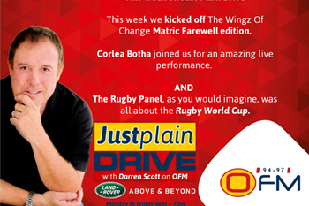 The Best Of Just Plain Drive 16 - 20 September 2019 | Blog Post