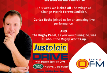 The Best Of Just Plain Drive 16 - 20 September 2019   News Article