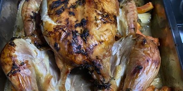 Ilse Cooks the Books: Roast Chicken in Herbs and Verjuice | News Article