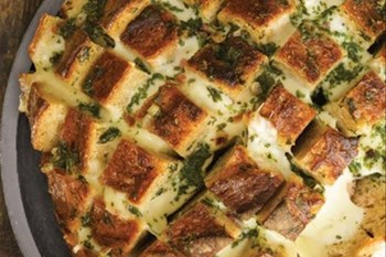 Your Weekend Breakfast Recipe - Four Cheese Herb Pull Apart Bread | Blog Post