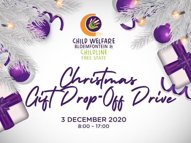 Child Welfare Bloemfontein & Childline Free State Christmas Gift Drop-Off Drive