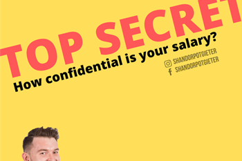 #MidMorningMagic with Shandor Potgieter: How confidential is your salary? | Blog Post