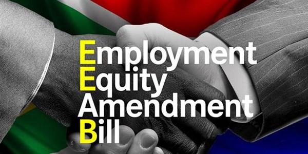 Employment Equity Amendment Bill | News Article