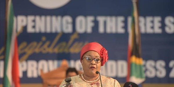 #FSSopa: Ntombela vows to address youth unemployment | News Article
