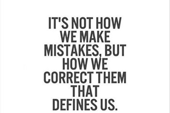 We all make mistakes | Blog Post
