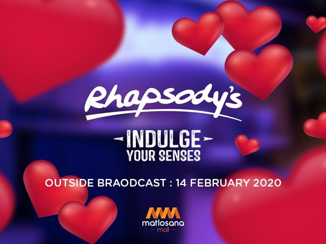 Rhapsody's Klerksdorp Valentine's Day Broadcast