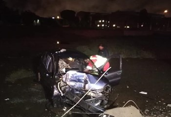 Bfn man survives lone vehicle accident | News Article
