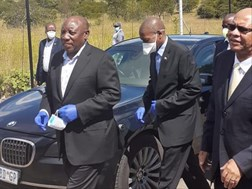 #Coronavirus: Ramaphosa to see off citizens after their quarantine   News Article