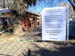 #CoronavirusFS: More police stations closed | News Article