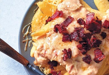 Your Weekend Breakfast Recipe - Loaded fries with cheese sauce and crispy bacon | News Article
