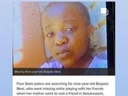 #BreakingNews: Missing girl's body found in wardrobe | News Article