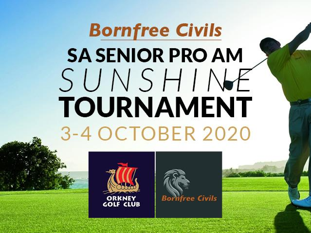 Bornfree Civil's SA Senior Pro Am Sunshine Tournament