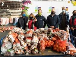 Bloem-gemeenskappe kry vars groente danksy spanpoging, Mike Loutfie-stigting   News Article