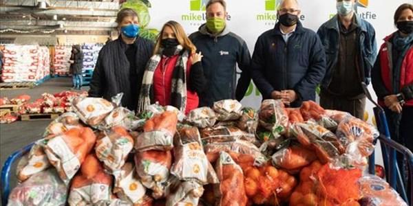 Bloem-gemeenskappe kry vars groente danksy spanpoging, Mike Loutfie-stigting | News Article