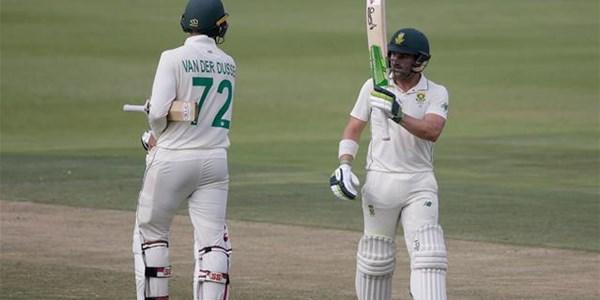 Elgar scores 13th Test ton before Sri Lanka fight back | News Article