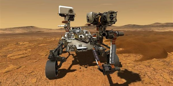 Nasa's rover on track for daredevil landing on Mars | News Article
