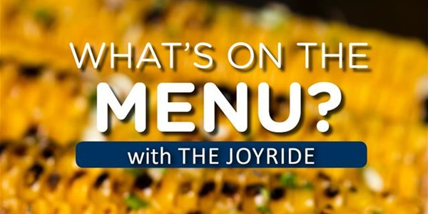 TJR - What's On The Menu   News Article