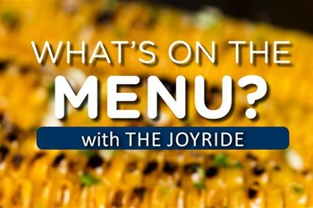 TJR - What's On The Menu | Blog Post