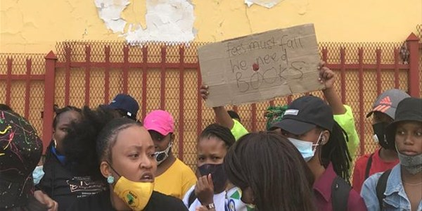 Students blast Motheo for 'disorganised management of college' | News Article