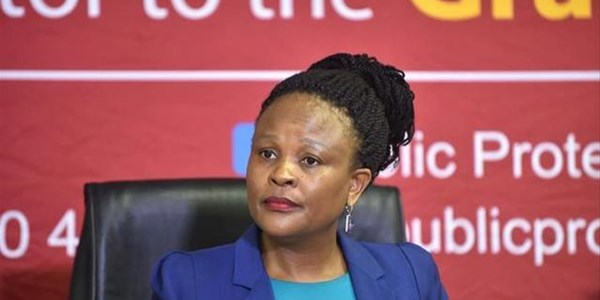 Reviewed Vrede report could seal Mkhwebane's fate   News Article