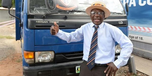 Potch old boys gift retired groundsman a truck | News Article