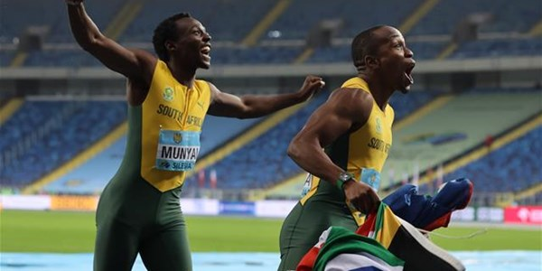 Blistering Simbine leads SA to gold in Poland | News Article