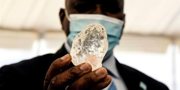 Botswana says found world's 'third largest' diamond | News Article