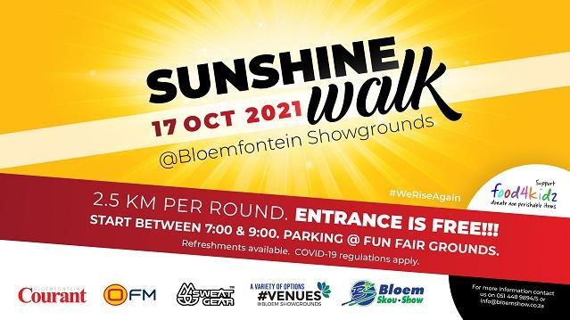Sunshine Walk: Free family fun walk