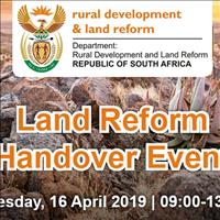 Land Reform Handover Event