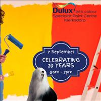 Dulux Specialist Paint Centre Klerksdorp 20th Birthday