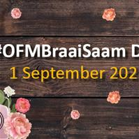 #OFMBraaiSaam Day – 1 September