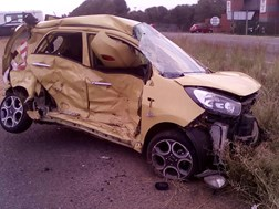 Nine injured after horrific accident in Bloemfontein | News Article
