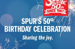 Spur's 50th Birthday Celebration