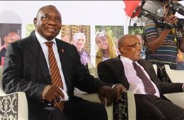 Deputy President and Minister of Health launch National Strategic Plan on HIV, TB and STIs in Mangaung